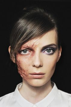 Photo: Via 12 Magazine #refinery29 http://www.refinery29.com/violent-beauty-photos#slide-6