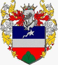 Escudo e Brasão de Armas da família Sacconi