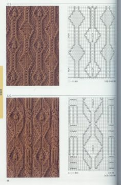 Collection of knitting patterns