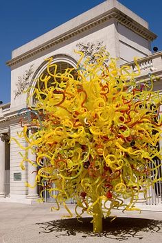 Glass Tree: Dale Chihuly