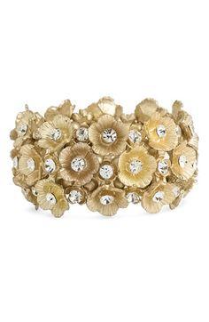 Tasha floral cluster bracelet