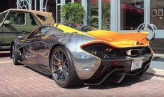 World's Uniquest McLaren P1 Spotted in Cannes   automotive99.com