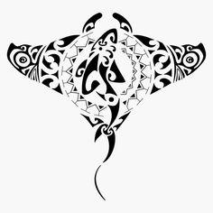 tatuaje maori de raya