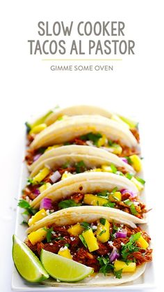 Slow Cooker Tacos Al Pastor Recipe
