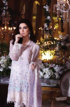 Best Eid Women Dresses Maria B Mbroidered Eid Collection 2017-18