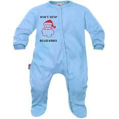 Pyjama bébé Noël : DON'T STOP BELIEVING (7 coloris)