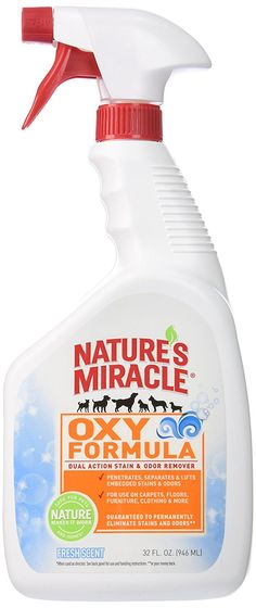 Nature's Miracle Foaming Oxy Cleaner *** Insider's special review you can't miss. Read more  : Cat litter