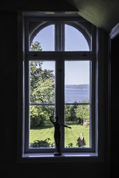 Seaview from the hotellvindow. Hotell Refsnes Gods, Visit Oslofjord, Visit Østfold, Dehistoriske, Norway, Summer