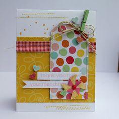 friendship card - Pebbles blog