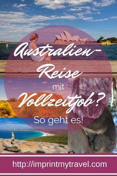 Australien gilt als das Traumziel vieler Reisender. Viele Reisende sind sich aber unsicher, ob sich eine Reise nach Australien bei begrenztem Zeitbudget auszahlt. Ich zeige dir, wie du trotz Vollzeitjob eine unvergessliche Australien-Rundreise planen kannst!