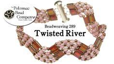 Twisted River Bracelet ~ Seed Bead Tutorials