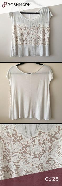 Zara W/B Collection Sleeveless Lace Like Print Top Beige Crop Tops, Polka Dot Crop Tops, Floral Crop Tops, Striped Crop Top, Lace Crop Tops, Sleeveless Crop Top, Long Sleeve Crop Top, Zara Lace Top, Crop Shirt