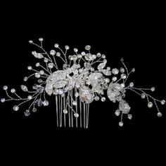 Image detail for -collection of gorgeous of swarovoski crystal bridal hair combs pins ...