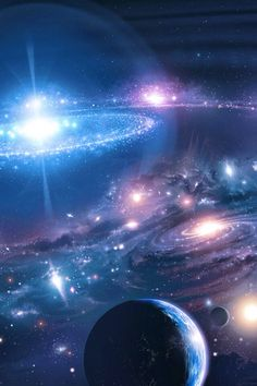 omg Outer Space Wallpaper, Wallpaper Earth, Planets Wallpaper, Scenery Wallpaper, Landscape Wallpaper, Galaxy Wallpaper, Wallpaper Backgrounds, Galaxy Painting, Galaxy Art