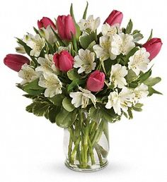 Spring Romance Bouquet in Chesterton IN, The Flower Cart, Inc  800-493-8504