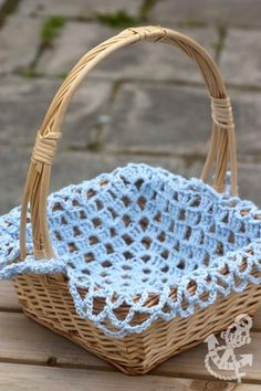 Easter Basket Crochet Lining