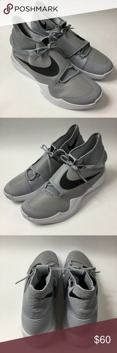 hyperrev black and white nike fitsole