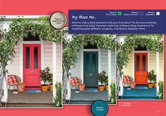 Want to make a bold statement with your front door?
