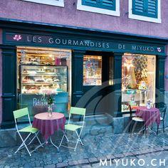 Teestübli, Café, Tortenparadies - les gourmandises de miyuko - Zurich http://www.miyuko.ch/aktuell/