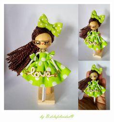 Doll Brooch  jewelry doll