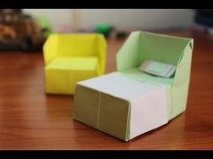 How to make an origami Bed! - YouTube