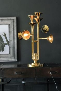 The Incredible Trumpet Table Lamp £780 rockett st George