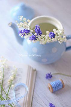 Delicate blue.....