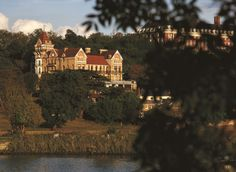 The Petersham Hotel in Richmond, Surrey, South East England, England.