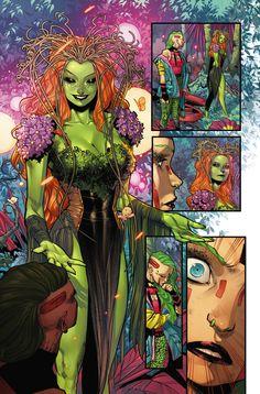 Graffiti, Comic Panels, Comic Books Art, Book Art, Poison Ivy, Rogues, Dc Comics, Batman, Marvel