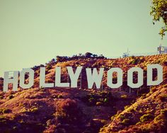 Hollywood Sign Fine Art Photography Lomography