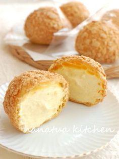 GOOD-Crispy Cookie Cream Puffs