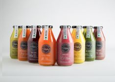 Designing the branding and packaging for a range of cold-pressed juices launched by TBH-To Be Healthy, a health food and beverage company Juice Logo, Juice Branding, Juice Packaging, Beverage Packaging, Brand Packaging, Packaging Design, Kombucha, Sugarcane Juice, Cold Pressed Juice