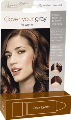 Irene Gari Cover Your Gray for Women, Dark Brown >>> Details can be found at