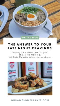 GOTO MONSTER: Answer to Your Late Night Goto Cravings! #philippines #travel #foodtravel Philippines Tourism, Philippines Travel Guide, Philippines Food, Beef Tripe, Late Night Cravings, Salted Egg, Restaurant Recipes, Late Nights, Manila