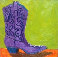 Cowboy Boot 3 by Californiana on Etsy
