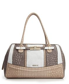 f16f5f96b02 GUESS Handbag, Mariolina Box Satchel Guess Purses, Guess Bags, Cute Purses,  Guess