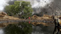 Millions of barrels of oil have been spilled in Nigeria's Delta region. Tired of the abuse, Nigerians just blew up a pipeline and a platform in an attempt to rectify what politicians and courts have been slow to do.