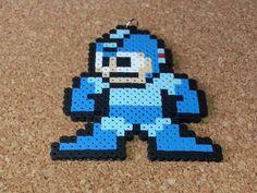 Megaman Bead Sprite  Super Smash Wii U Melee by DCBPerlerSprites