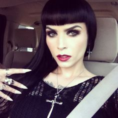Wicked Dame: Hearse Driving, Tattooed Badass Sarabelle Marcoux