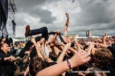The Dillinger Escape Plan at Heavy T.O. #musicfestivals