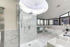 Inside Hollywood star Hugh Grant's former London bachelor penthouse - on sale for million Hugh Grant, London Property, Property For Sale, 3 Bedroom Flat, Penthouse For Sale, Rich Home, Home Automation System, Rooftop Deck, Apartments For Sale