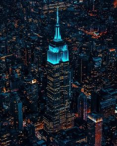 Empire State Building by Chris Nova Photographie New York, New York City, Central Park, New York Night, New York Photography, Nyc Skyline, City Aesthetic, City Wallpaper, City Landscape