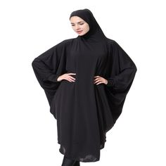 Dubai Style Women Muslim Kaftan Maxi Abaya Islamic Amira Headcover Clothes Robe Hijab Arab Worship Prayer Clothing hafiz <3 AliExpress Affiliate's Pin.  Detailed information can be found on AliExpress website by clicking on the image