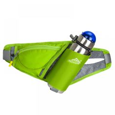 Unisex Outdoor Running Sports Water Bottle Holder Belt Bag Waist Bag Backpack For Key Stuff Waist Pack Hiking Pockets Bags Running Belt, Water Bottle Holders, Hip Bag, Waist Pack, Nylon Bag, Backpack Bags, Messenger Bag, Smartphone, Entertainment