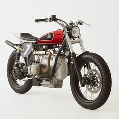 BMW R100 RS tracker by Fuel Bespoke Motorcycles.