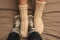 {Tricot} Les bases du tricot de chaussettes