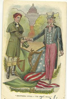 Uncle Sam for St Patty's day