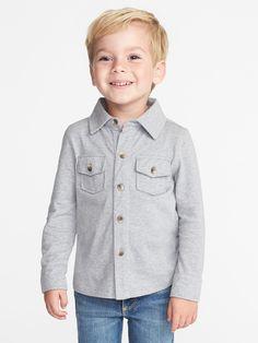 Jersey Pocket Shirt for Toddler Boys  64d310ee8