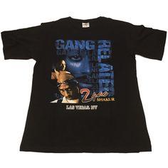 Vintage 1990s shirt Tupac T-Shirt Sz 2XL Hip Hop Rap Tee 2PAC RARE Gang 4456ebf4111