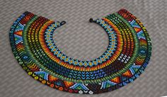 Colombian Glass Bead Necklace (BN538) | Little Colibri